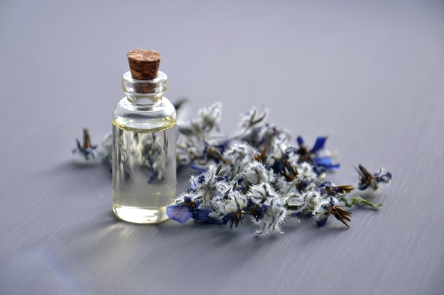 A bottle of sweet scent.